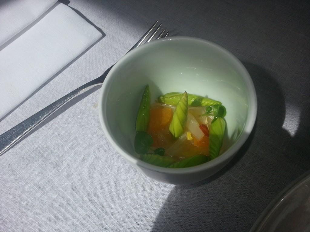 Salat von Mandarinen