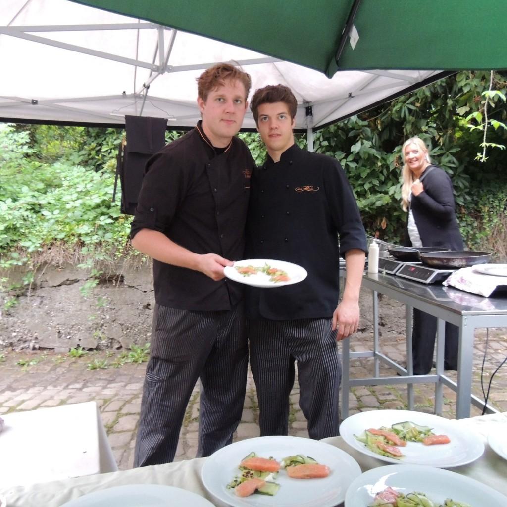 Sven Nöthel und Nico Maslo